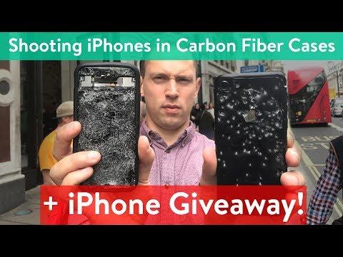 Mous Carbon Fiber iPhone Case Review! - Is it bullet proof? (видео)
