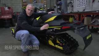 9. Setting Up Your Ski-Doo rMotion Rear Suspension