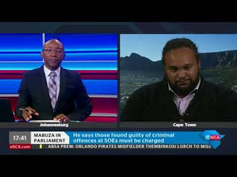 Deputy president David Mabuza's Q and A