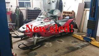 4. New sled! 2005 polaris 600 xc sp