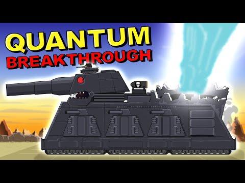 """""""Quantum Breakthrough"""" Cartoons about tanks"""