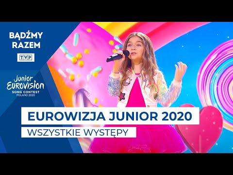 Wszystkie występy z Eurowizji Junior 2020!