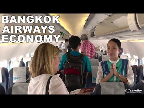 Bangkok Airways Flight Review – Flight PG127 Bangkok to Koh Samui – Airbus A319 – HS-PGN