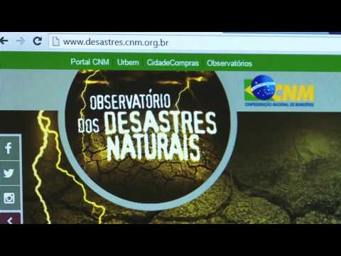 CNM esclarece sobre funcionalidades do Observatório dos Desastres
