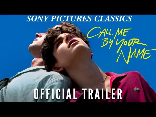 trailer Call Me by Your Name
