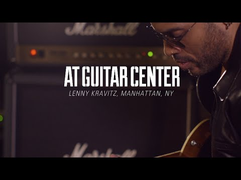 Lenny Kravitz At Guitar Center