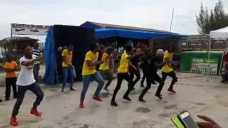 Jamaican Dancers at Black River Day, Jamaica