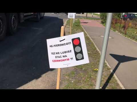 Wideo1: Swoista instrukcja dla kierowców w Gostyniu