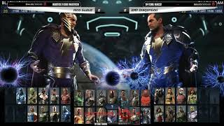 Next Level Battle Circuit is a weekly tournament series in New York City featuring some of the best fighting game players in the world! Watch the fights live every Wednesday 8PM EST on http://twitch.tv/teamsp00kyRico Suave (Black Adam) vs Kinetic Predator (Supergun) 0:00Rico Suave (Black Adam) vs EMP Dragongod (Black Adam) 12:20Next Level Arcade, 874 4th Ave, Brooklyn, NY 11232 (http://nycnextlevel.com)Follow Next Level on Twitter (https://twitter.com/nycnextlevel).Brackets available on the Next Level Challonge page (http://nextlevel.challonge.com)💀 Watch more Team Spooky 💀Catch us live on our Twitch channel (http://twitch.tv/teamsp00ky)Follow Team Spooky on Twitter (http://twitter.com/teamspooky)Follow Team Spooky on Facebook (http://facebook.com/teamspooky)