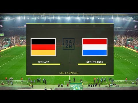 Germany vs Netherlands (COM vs COM) EURO 2020 Qualifiers | PES 2019