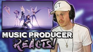 Video Music Producer Reacts to K/DA - POP/STARS (ft Madison Beer, (G)I-DLE, Jaira Burns) MP3, 3GP, MP4, WEBM, AVI, FLV Januari 2019