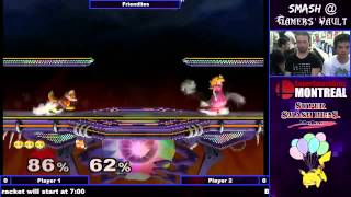 A rare treat for you Peach mains: Vwins playing some Smash