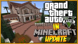 Minecraft: UPDATE - GTA 5 Michael's Home | 1st floor all done! :D