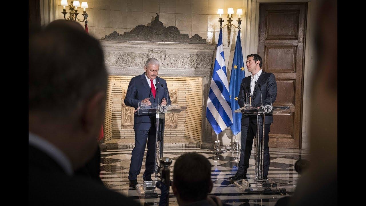 Κοινές δηλώσεις με τον Πρωθυπουργό της Τουρκίας κ. Μπιναλί Γιλντιρίμ