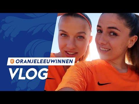 OranjeLeeuwinnen-vlog #6: 'We hebben allemaal de Sherida-look'