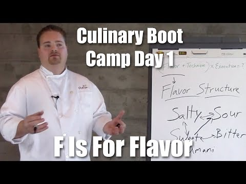 Culinary Boot Camp Day 1 | F Is For Flavor | Stella Culinary School (2018)