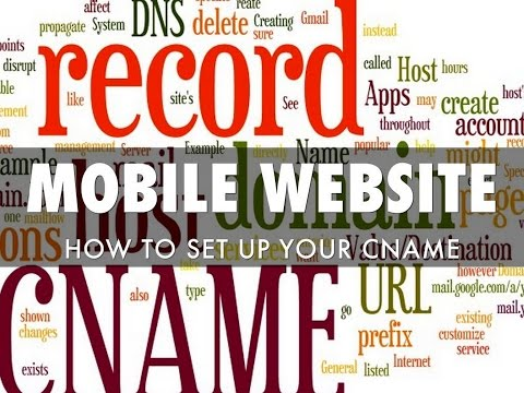 how to set cname