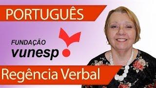 Português VUNESP - Regência Verbal - Questão Corrigida