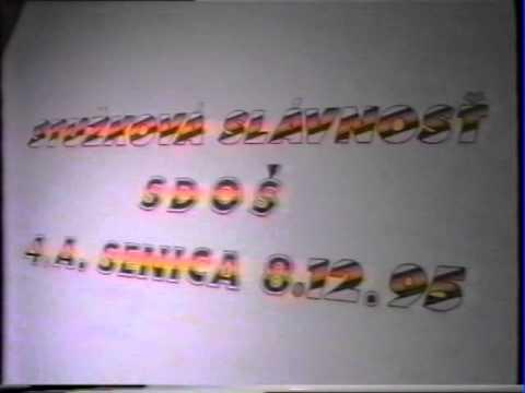 1995 - 1. stužková na SDOŠ Senica