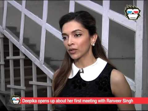 What happened when Deepika met Ranveer for the first time