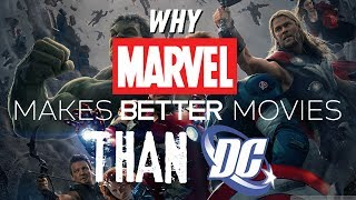 Video Why Marvel Makes Better Movies Than DC MP3, 3GP, MP4, WEBM, AVI, FLV Maret 2018