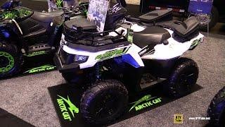 8. 2016 Arctic Cat Alterra 700 XT EPS Utility ATV - Walkaround - 2015 AIMEXPO Orlando
