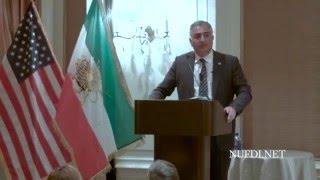 سخنرانی شاهزاده رضا پهلوی در دالاس تگزاس در مورد آینده ایران و منطقه