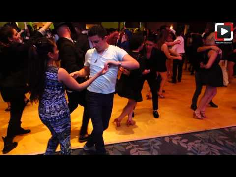 Maria Catalan Y Oscar Martinez Social Dance At Houston Salsa Congress