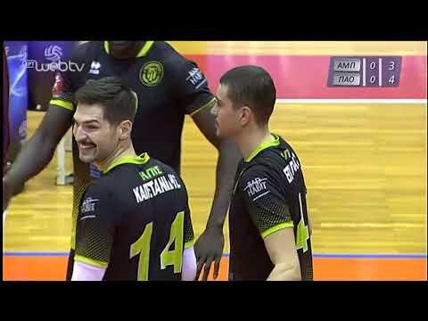 Volley League: ΑΜΠΕΛΟΚΗΠΟΙ – ΠΑΝΑΘΗΝΑΪΚΟΣ | 09/12/2019 | ΕΡΤ