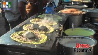 Kakinada India  city pictures gallery : Upma Pesarattu | KAKINADA STREET FOOD | INDIAN STREET FOOD