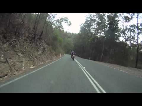Mountain Bike Vs Motorbike Down Hill race