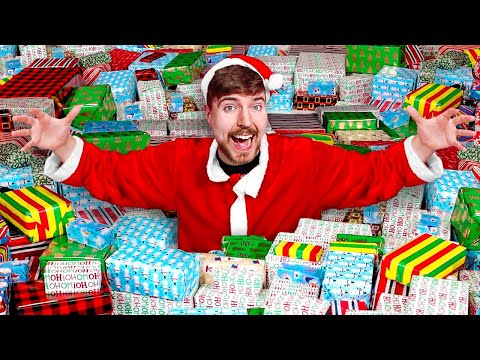 MrBeast Gives 10 000 Presents To People In Need