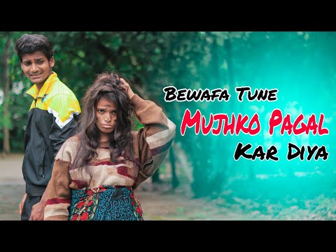 Bewafa Tune Mujko Pagal Kar Diya | Bewafa Love story | Ft. Jeet & Annie | KAJAL | Besharam Boyz |