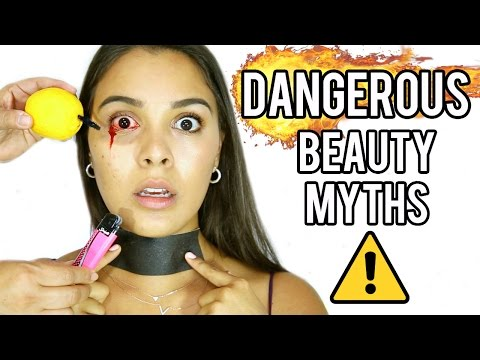 Dangerous Beauty Myths TESTED! (WARNING: Graphic Content!) NataliesOutlet