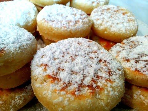 Печенье МИНУТКА Очень Вкусное Тает во Рту.Домашнее печенье.Выпечка на сковороде.Cookies in a pan