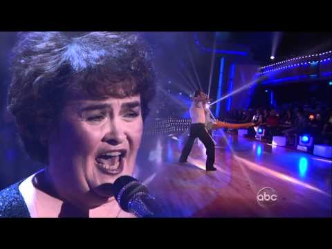 Susan Boyle - I Dreamed A Dream - Dancing with the Stars - 2009