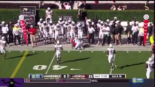 Hutson Mason vs Vanderbilt (2014)