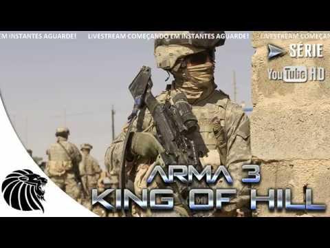 King - Conheça a PSNGAMESDF: http://bit.ly/1nRZzVE CUPOM DE DESCONTO 5%: SER5 Extensão do Canal: http://goo.gl/qBcq7D ================================================ Arma 3 King Of The Hill ==========...