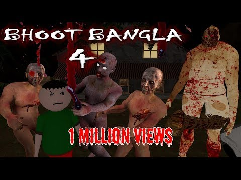 BHOOT BANGLA 4 THE KING OF GHOST || HORROR STORIES || (ANIMATED IN HINDI) MAKE JOKE HORROR