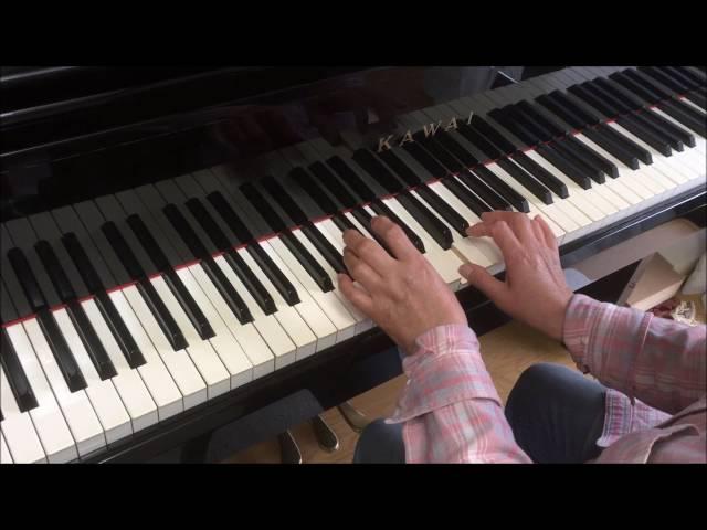 (アフター)大人初心者「歓びの歌」を弾いてみた。