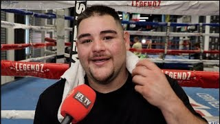 'EDDIE HEARN - I'M SORRY FOR BEATING JOSHUA' - ANDY RUIZ ON REMATCH, SYRINGE PIC, FURY, WILDER, USYK