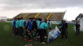 The award ceremony to the champions of U21. (Video)