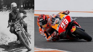 Video Evolution of MotoGP Riding Styles - From Leaning Out to Elbow Dragging MP3, 3GP, MP4, WEBM, AVI, FLV September 2018
