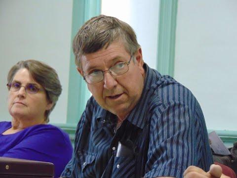 Ellington Township Supervisor Duane Lockwood grills citizens (11.7.16)