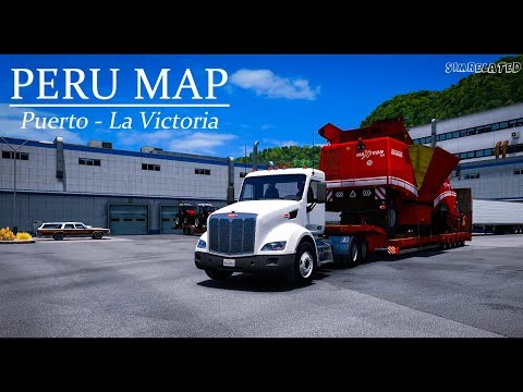 Map DLC Peru v1.4 for ATS 1.29.x and 1.30.x
