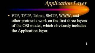 CCNA - OSI Model - Layer 7 Application.avi