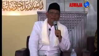 KH Hasyim Muzadi ; Ceramah Runtut Tentang Shalawat Di UI Bershalawat