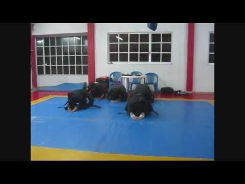 Examen cintas negras. Ninpo Koga Ryu Ninjutsu, Bushi Kaze Dojo.