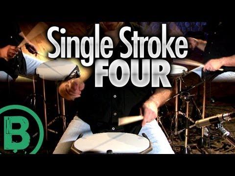 Single Stroke Four