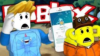 POKEMON GO CHALLENGE! - Roblox Pokemon Go! W/AshDubh by iBallisticSquid